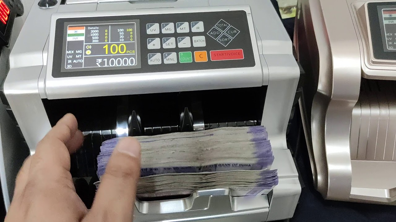 Uses of having a money counting machine at the retail shops