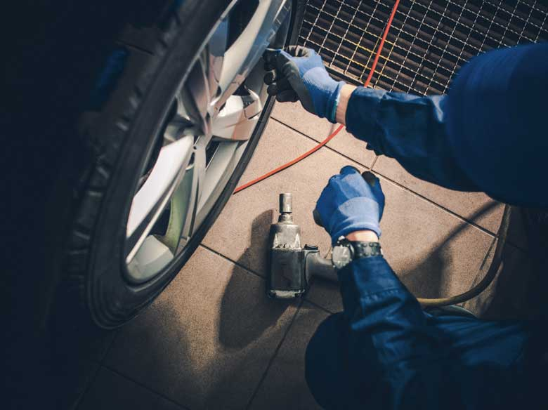 Different tire materials: Each for a different terrain for Car tyre repair!
