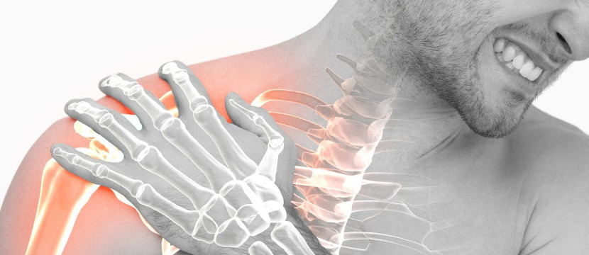Start treatment for frozen shoulder pain