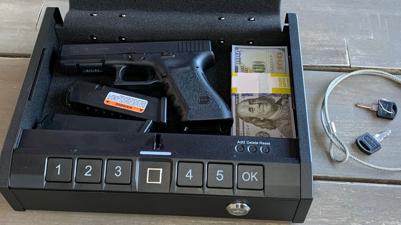 Purchase Locked And Secured  Safes For Handguns