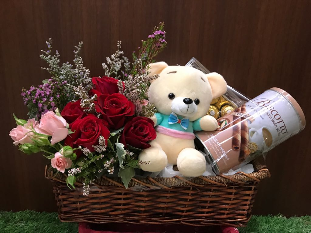 Wish Your Loved Ones The Perfect Birthday With Birthday Flower Hamper